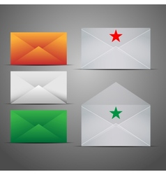 Mail Marketing Icon Set vector