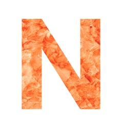 n land letter vector image
