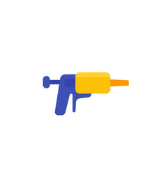 silicone caulk gun icon flat vector image
