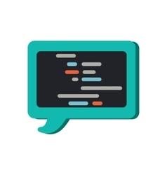 Speak Cloud Concept in Flat Design vector