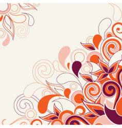 abstract decorative vector image vector image