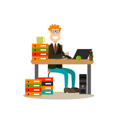 business people concept in vector image vector image