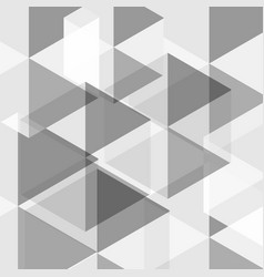 abstract background white and gray hexagons vector image