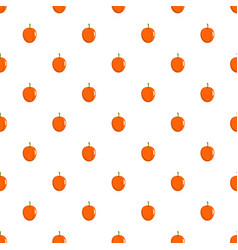 apricot pattern seamless vector image