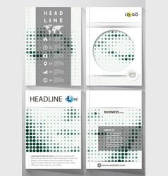 Business templates for brochure magazine flyer vector