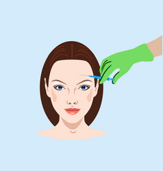 Cosmetology and beauty vector