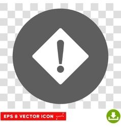 Error Rhombus Round Eps Icon vector image
