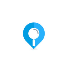 find point logo icon design vector image