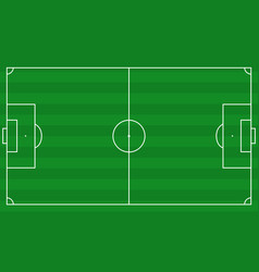 football field scheme vector image