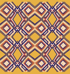 Geometric romb print in vector