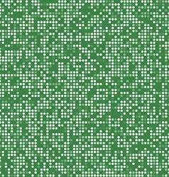 Green circle pixel mosaic background vector
