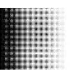 halftone dots gradient in format vector image