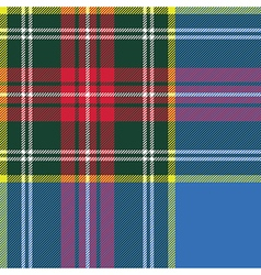 macbeth tartan kilt fabric textile check pattern vector image