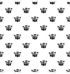 Protest pattern seamless vector