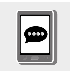 smartphone cellphone technology vector image