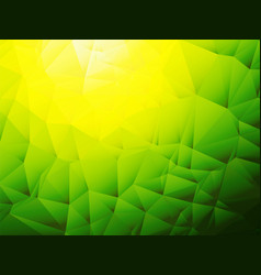 yellow green background with shadow vector image
