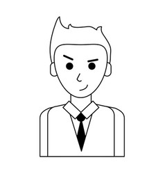 Young businessman icon image vector