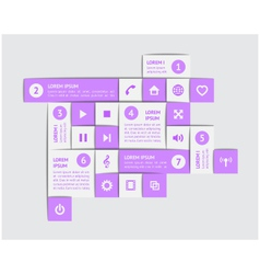 Design elements and templates vector image vector image