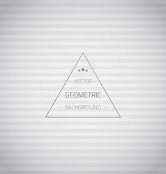 Seamless Vintage Geometric Retro Lines Grunge vector image