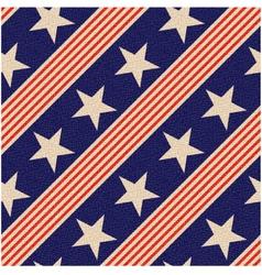 seamless patriotic usa stars background vector image