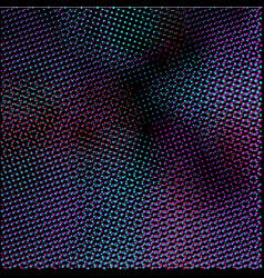 abstract dark halftone dotted background vector image