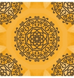 Arabesque Motif Print vector