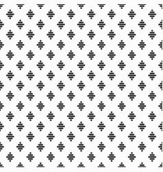 black trendy rock diamond emblem sign pattern vector image
