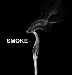 cigarette smoke waves background vector image