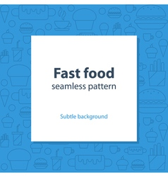 Food menu abstract template and background vector