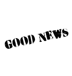 Good News rubber stamp vector image