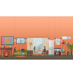 Modern gadgets for daily life concept vector
