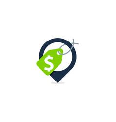 money point logo icon design vector image