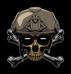 Soldiers color vector