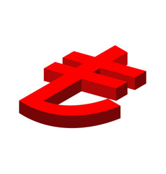 Turkish lira sign financial currency symbols vector
