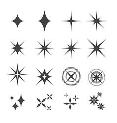 sparkles icon vector image vector image