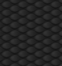 Embossed texture wave vector image vector image