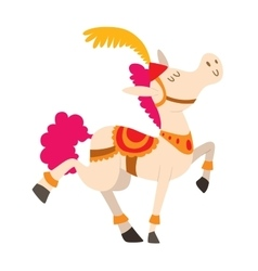 Cartoon horse character vector