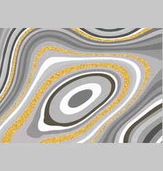 Abstract agate styled texture design vector