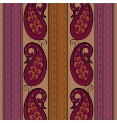 Abstract vintage ornament pattern vector