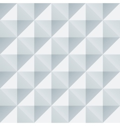 Abstract white and grey geometric squares seamless vector image