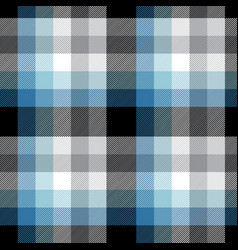 blue plaid pattern design vector image