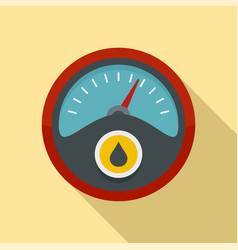 petrol dashboard icon flat style vector image