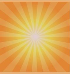 sun sunburst pattern and stylish vector image
