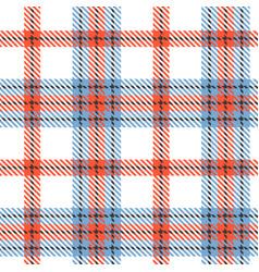 tartan seamless pattern background vector image