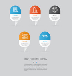 Travel icons set collection plane schedule vector