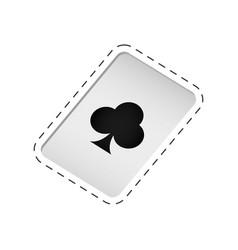 magic card trick icon vector image