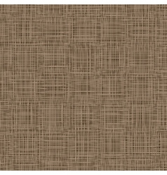 Natural Linen Background Woven Threads Texture vector image vector image