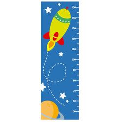 meter wall rocket vector image vector image