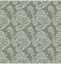 ornament floral curtains vector image vector image
