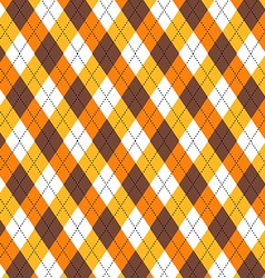 Candy Corn Argyle vector